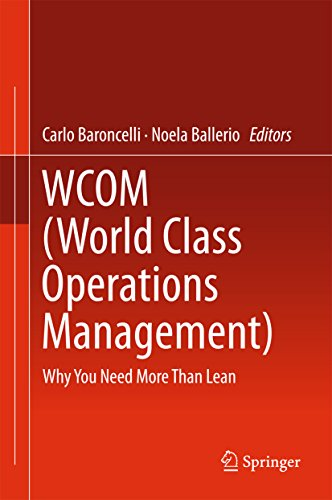 (WCOM (World Class Operations Management): Why You Need More Than Lean)