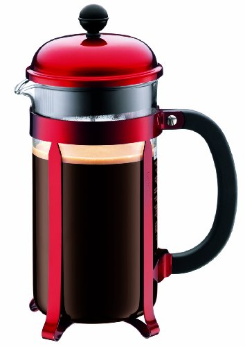 Bodum Red Chambord 8-Cup Coffee (Bodum Pot)