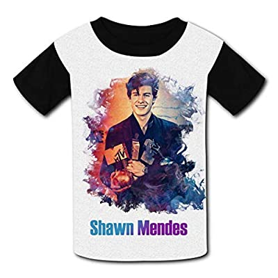 BEKAI Youth Summer Kids Short Sleeve Creative Smoke Shawn-Mendes Comfortable Printed T-Shirts Tees for Children Boys Girls