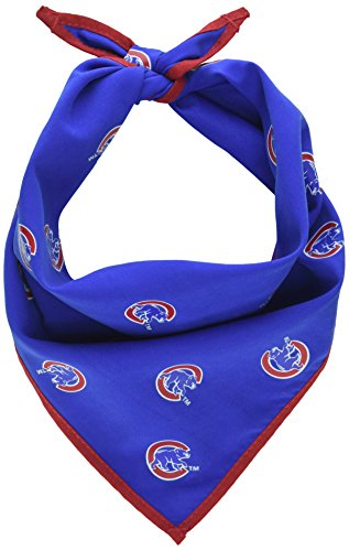 Sporty K9 MLB Chicago Cubs Dog Bandana, Small - New Design