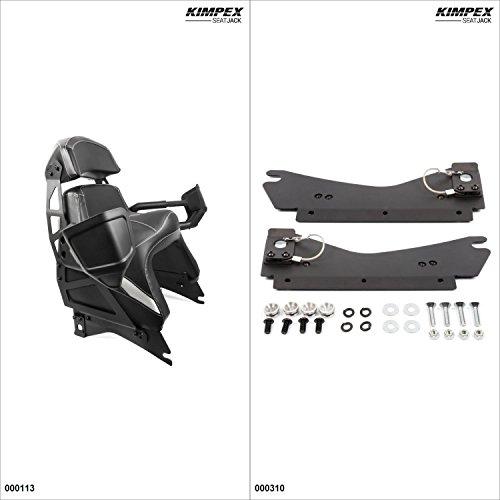 (KimpexSeatJack - Passenger Seat Kit - Black, Ski-Doo MXZ 600 2008-19)