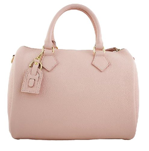 Vera Modello Rosa Borsa A Mano Trin Italy In Pelle Donna Superflybags Bauletto Made fgb7y6vY