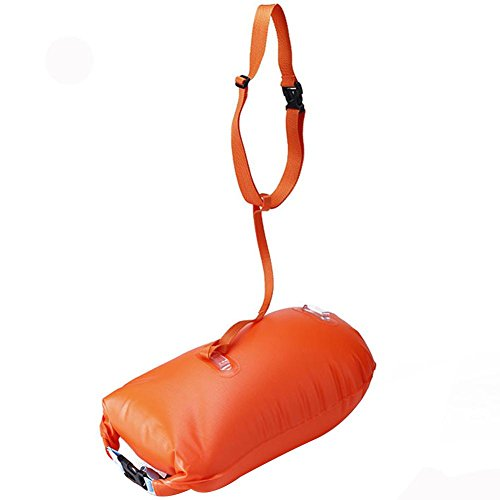 New Wave Swim Buoy,Swim Bubble-Outdoor Swimming Buoy Multifunctional Swimming Drifting Bag Open Water Swimming Training Buoy by Greencolorful (Image #4)