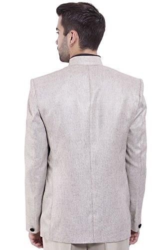 Formati 20 Uomo Colori E Argento Rayon Nehru Mandarino 15 Blazer Wintage ZfxpCqgw