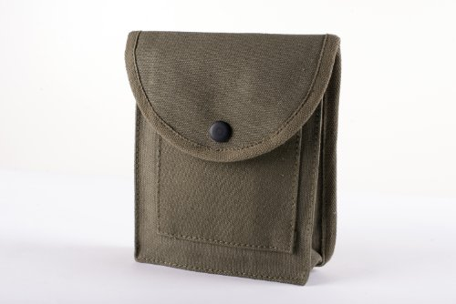 Stansport Cotton Canvas Utility Pouch, Olive Drab
