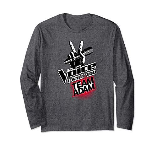 The Voice Team Adam Longsleeve T Shirt