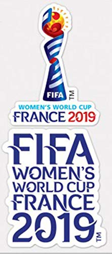 WinCraft FIFA Women's World Cup Soccer France 2019 Perfect Cut Decals 2 Pack