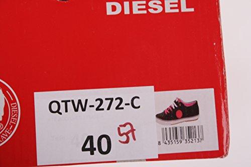 Diesel Damen Sneaker Schnürschuhe Schuhe Grau #57