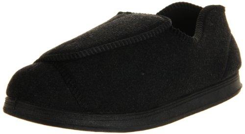 Foamtreads Nurse Slipper,Charcoal Wool,7 W US