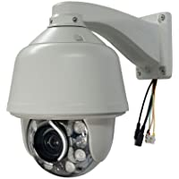 CCTV Outdoor Auto Track Tracking PTZ Camera 1/3 Sony 700tvl 30x Zoom 360°/s IR High Speed Dome Security Camera with Fan & Heater & Wiper
