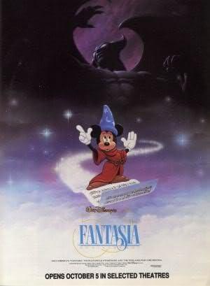 Disney Fantasia Imported Movie Wall Poster Print 30cm X 43cm Brand New Amazon Co Uk Kitchen Home