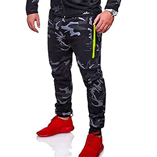 148f4d7923919 2019 Spring Camouflage Zipper Cardigan Hooded Sweatshirts Fashion Print  Sportswear Men s Slim Fit Tracksuit