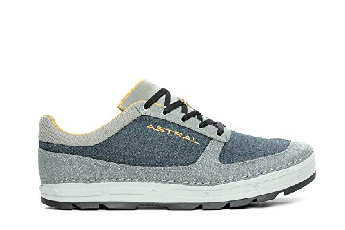 Astral Men's Hemp Donner Casual Minimalist Shoes, Breathable and Lightweight, Made for Outdoor Activities and Travel, Denim Navy, 10.5 M US