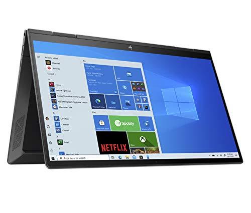 HP ENVY x360 13-ay0008na 13.3 Inch Full HD Touch-Screen Convertible Laptop – (Nightfall Black) (AMD Ryzen 5-4500U, AMD…