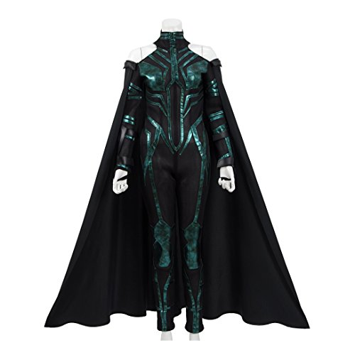 Hot Comic Movie Ragnrk Death Goddess Costume Women Halloween Costume (US Women-S, Full Set)]()