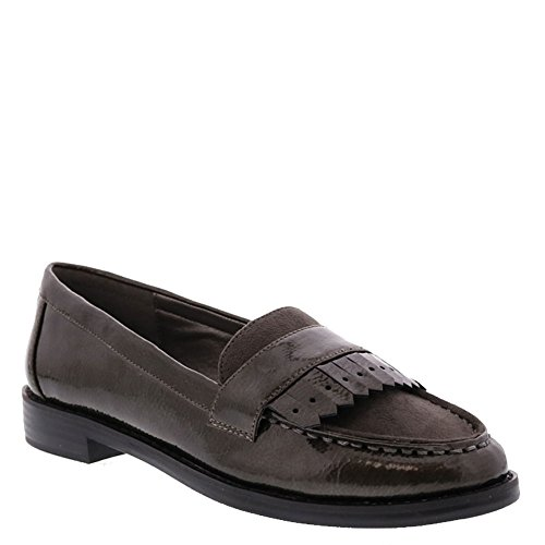 Bellini Dapper Womens Slip On Gray-patent