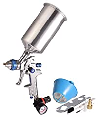 DESCRIPTION:  The DYNASTUS HVLP gravity-feed spray gun is perfect for spraying oil-based or latex paints, suitable for medium to large size painting jobs in a wide variety of automotive, home, and furniture applications. This spray gun requir...