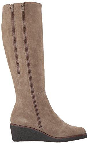 Suede Boot Women's Taupe High Aerosoles Knee Binocular 6wYRY