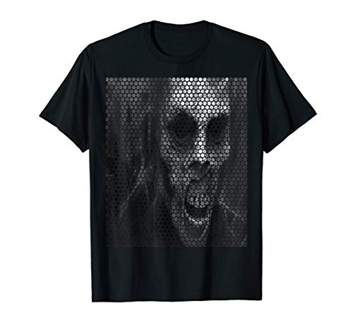 Disturbed T Shirt Scary Face Candle Band Logo Official Mens