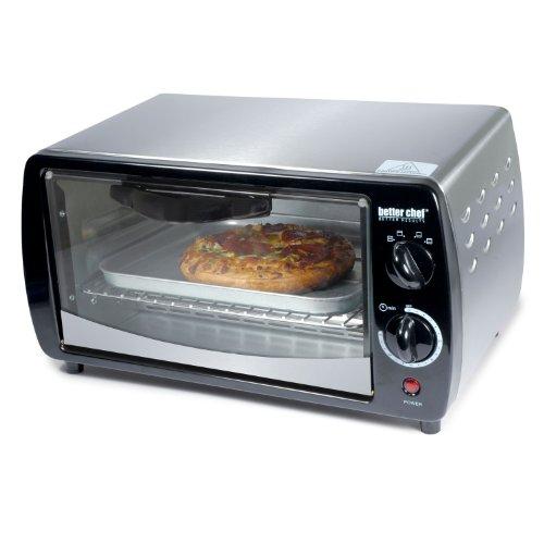Better Chef 9 Liter Toaster Oven Broiler, Stainless Steel