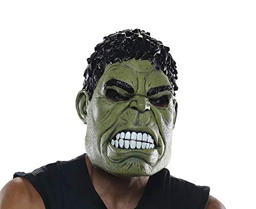 (Rubie's Men's Marvel Avengers Infinity War Hulk Vinyl Mask )