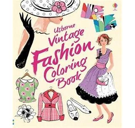 - Vintage Fashion Coloring Book: 9780794534905: Amazon.com: Books