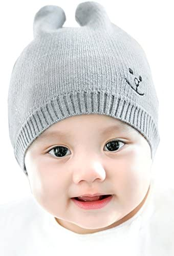 1ca43613618 GZMM Unisex Newborn Baby Warm Fashion Soft Knit Hat Beanie Cap