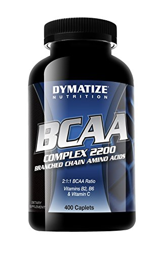 Dymatize Nutrition BCAA Complex 2200, 400 Caplets (Packaging May Vary)