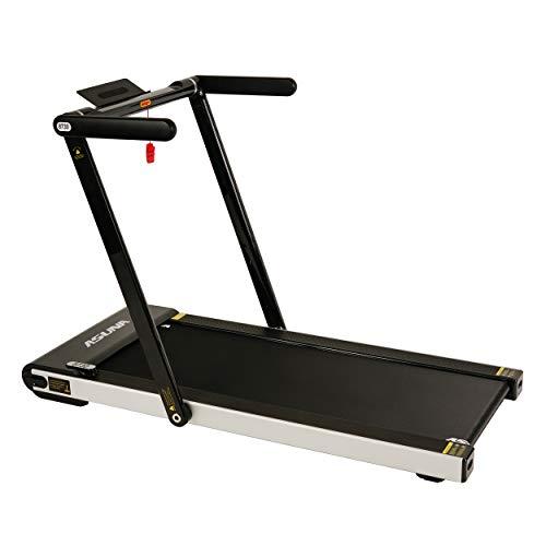 Sunny Health & Fitness Asuna Space Saving Treadmill, Motorized, Low Profile & Slim Folding – 8730