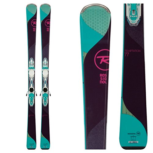 Rossignol Temptation 77 Womens Skis with Xpress 10 Bindings 2018 - 160cm by Rossignol