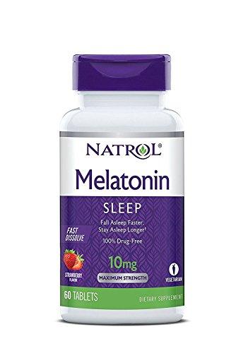 Natrol Melatonin Dissolve Tablets Citrus