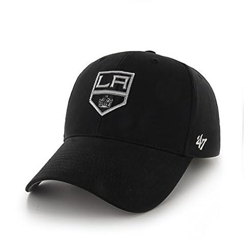 NHL Los Angeles Kings Toddler '47 Basic MVP Adjustable Hat, Black (Los Angeles Kings Hat 47)