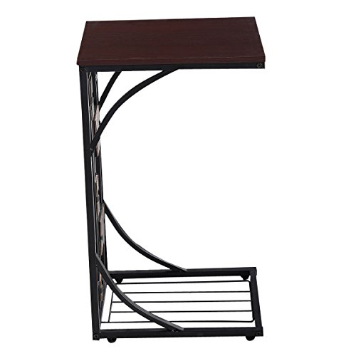 US Stock Coffee Tray Side Sofa Table Ottoman Couch Room Console Stand End TV Lap - Sc Mall Outlet Bluffton
