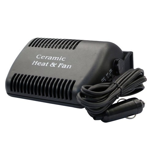 Car Heater 12v Volt Heater Car Van Ceramic Heater & Fan: