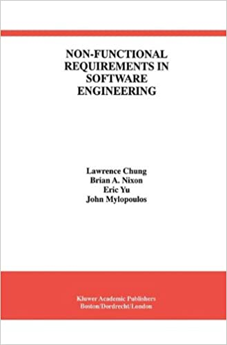 NonFunctional Requirements In Software Engineering International - Software functional requirements