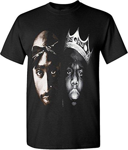 Tupac Legends Rappers Hip Hop T-Shirts Graphic Edition S-3XL (X-Large, - Legend Hip Hop