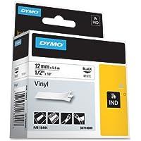Label, Dymo Rhino, White 1/2X18 by DYMO