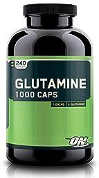 Optimum Nutrition Glutamine 1000 Caps - 240 Capsules