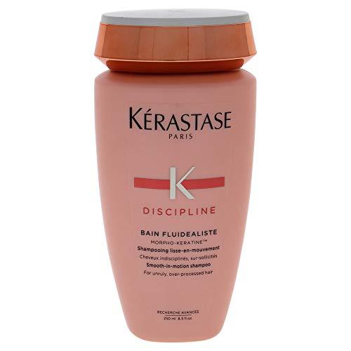 Discipline Bain Fluidealiste Smooth-in-Motion Shampoo by Kerastase for Unisex - 8.5 oz Shampoo