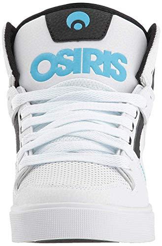 azzurro Hi Clone Skate Osiris Blanco Nero Scarpa Bianco Womens Blu nero Iqwpw0Rg