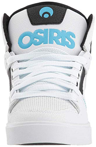 Hi Osiris azzurro nero Womens Bianco Skate Blanco Scarpa Clone Nero Blu qSIRq