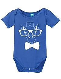 Giraffe Hipster Onesie Funny Bodysuit Baby Romper