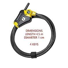 Master Lock Cable Antirrobo 1