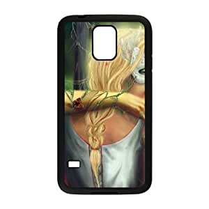 Samsung Galaxy S5 Cell Phone Case Black Possessed Angel and Devil BNY_6926433