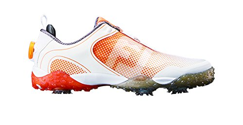 FootJoy Men's Freestyle Boa 57335 Golf Cleat B01J694L3W 11.5|White/Orange
