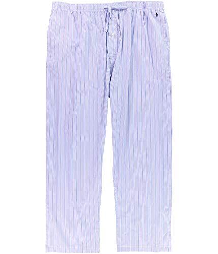 Polo Ralph Lauren Tall Man Printed Polo Woven Pajama Pant (RY28) XLT/Stripe/Cruise Navy