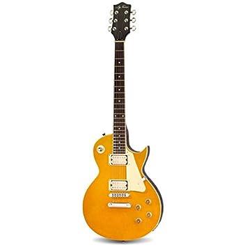 Guitarra eléctrica Jay Turser JT-220 Gold Top: Amazon.es: Instrumentos musicales