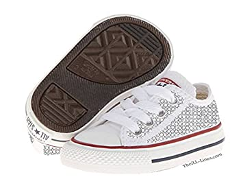 c6959f1d487 Image Unavailable. Image not available for. Colour  Converse Kids Chuck  Taylor All Star Core Ox (Infant Toddler)
