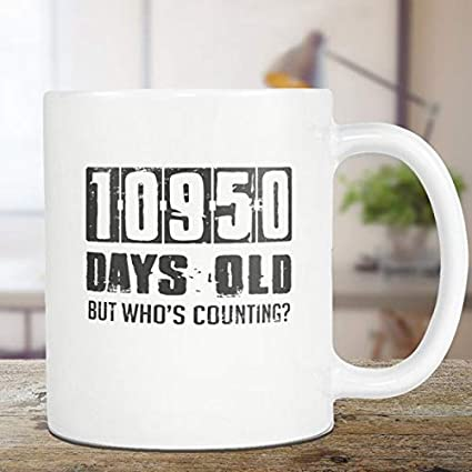 Amazon 30th Birthday Mug Gift Coffee Tea Cup 11oz