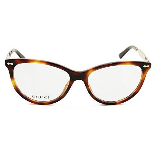 Optical frame Gucci Acetate Havana - Gold (GG 3818 CRX) (Gucci Modell-nummer)